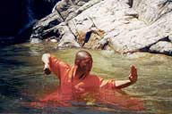 Shaolin Wheel Of Life Monks water