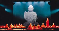 Shaolin Wheel Of Life Stage Prologue - Buddha
